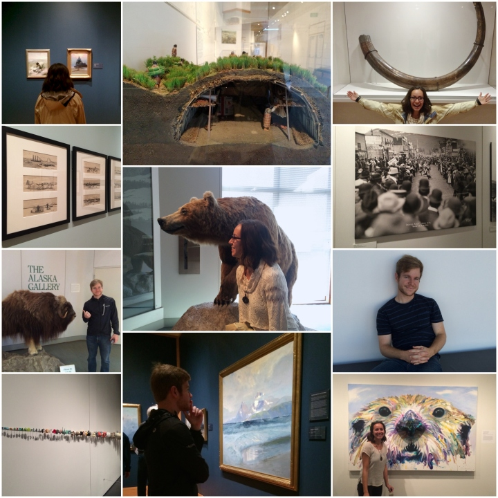 Anchorage Museum collage