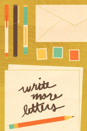 write more letters